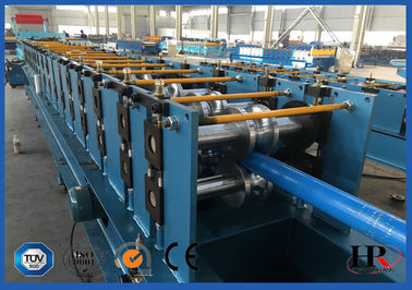 Round Downpipe / Downspout Roll Forming Machine 0.4 - 0.6 mm Độ dày lớp sơn
