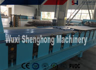 Curving Roof Panel Roll Forming Machine Custom For Glazed Color Steel