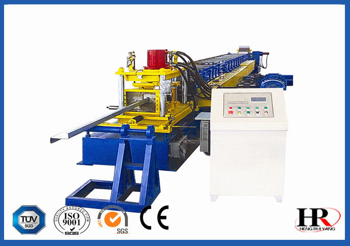 Easy Control C Z  Purlin Roll Forming Machine 3 Minutes Change Speed